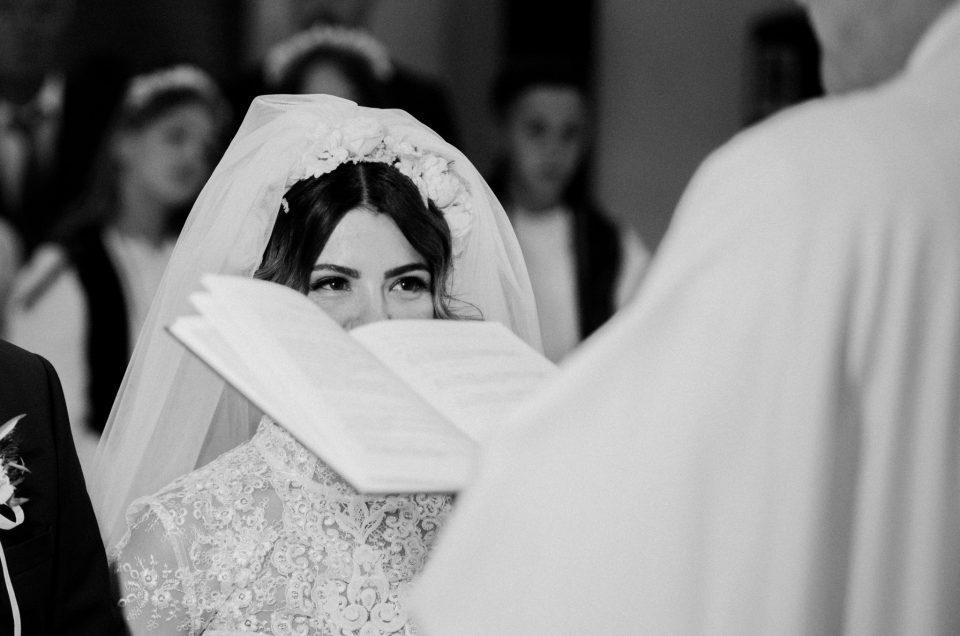 Crno-bijele fotografije vjenčanja